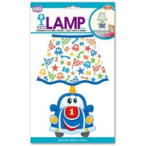 Dětská lampička na zeď, autíčko