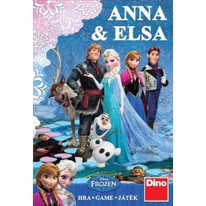 Dino Společenská hra Anna a Elsa