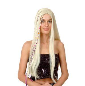 Alltoys Paruka blond - dlouhé vlasy