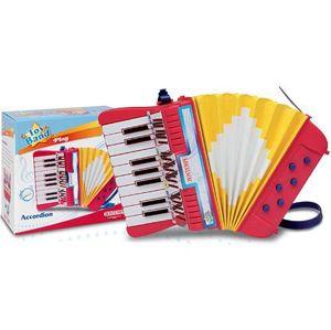 Alltoys Tahací harmonika se 17 klávesami