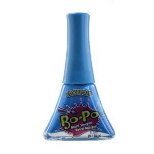 EPline BO-PO lak na nehty tm. modrý Cloudy day - BO-PO Lak na nehty slupovací Modrá 5,5 ml
