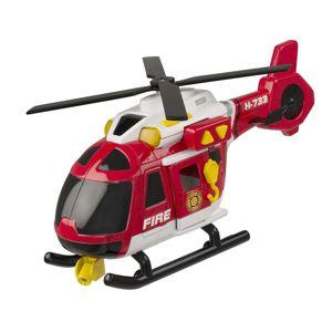 Alltoys Teamsterz Hasičská helikoptéra se zvukem a světlem