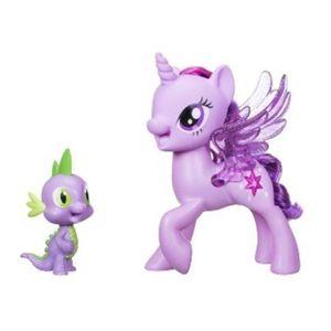 My Little Pony Hrací set se zpívající Twilight Sparkle a Spi