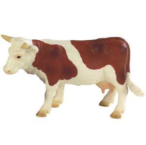Kráva Fanny hnědo-bílá