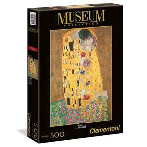 Puzzle Museum 500 dílků Klimt - polibek
