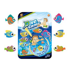 Hra rybičky - Alltoys Rybičky se síťkou