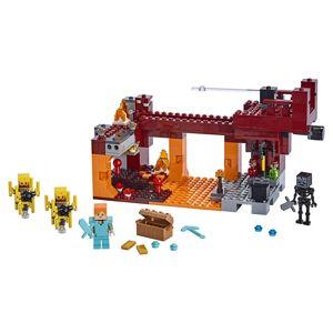 Lego Minecraft Most ohniváků