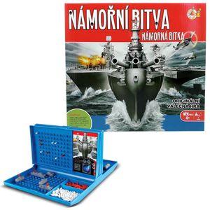 Alltoys Stolní hra Námořní bitva - HM Studio Námořní bitva cestovní