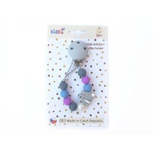 KidPro Klip na dudlík: Zajíček šedý