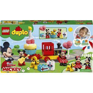 Lego Duplo Narozeninový vláček Mickeyho a Minnie
