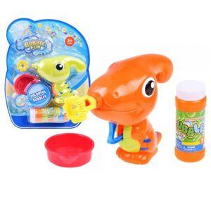 Bublifuk - dinosaurus - oranžová