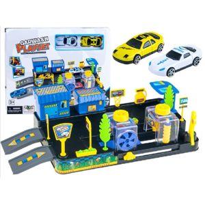 Čerpací stanice s myčkou aut