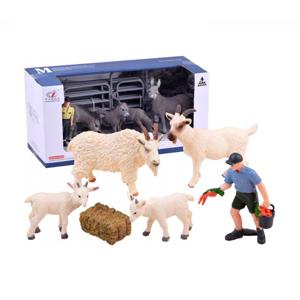 Dětská farma s koníkem a hříbětem - osly