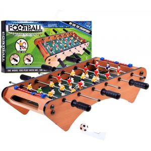 Dřevěný stolní fotbal 50 x 25 cm