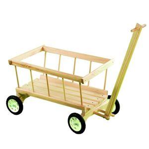 Dřevěný vozík - žebřiňák