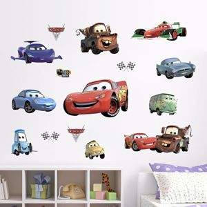 Nálepky na stěnu - Cars