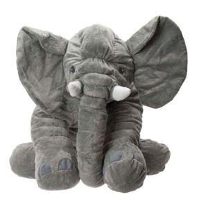 Plyšový polštář slon 50 cm