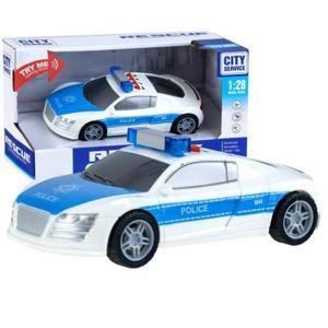 Policejní auto se světlem a zvukem