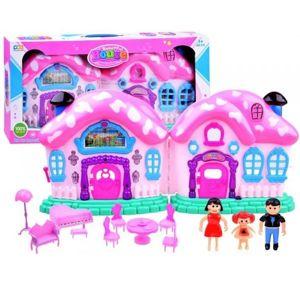 Pohádkový domeček pro panenky