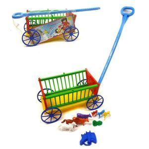 Pohádkový vozík se zvířátky