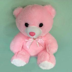 Svítící Medvídek růžový