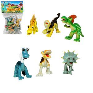 Veselé figurky dinosaurů